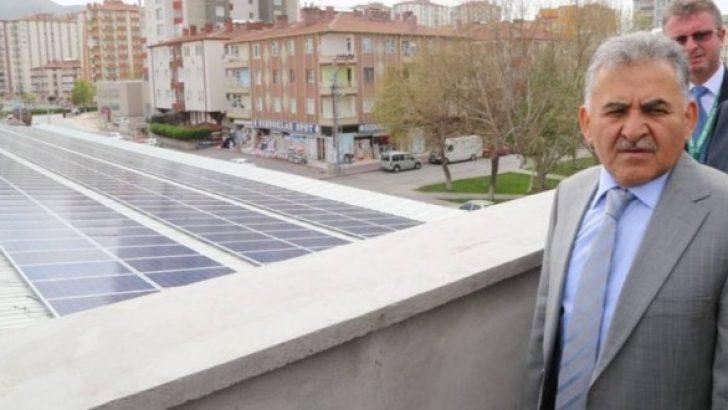 Melikgazi Belediyesi, Yenilenebilir Enerji Konusunda Hamlelere Devam Ediyor