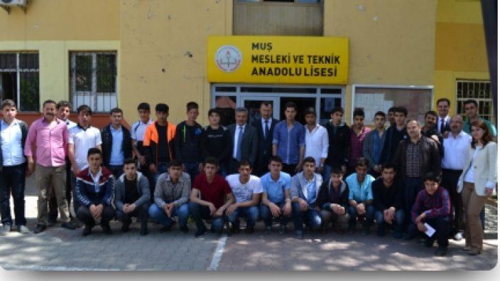 Muş Mesleki ve Teknik Anadolu Lisesi Kendi Elektriğini Kendisi Üretiyor