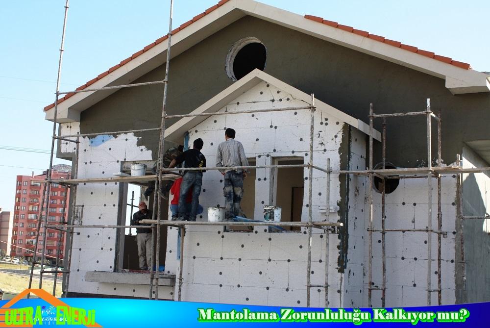 Binalarda Mantolama Zorunlulugu - Binalarda Mantolama Zorunluluğu Kalkıyor mu?
