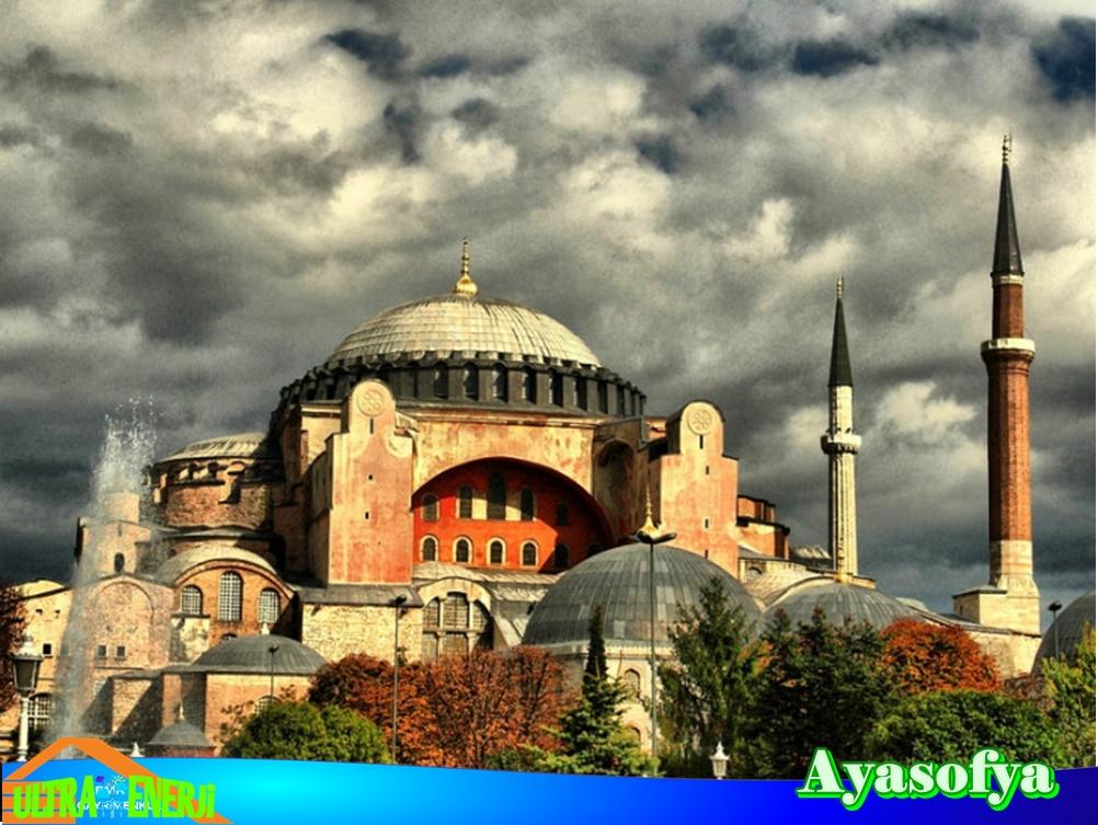 ayasofya - Dünyada En Etkileyici 5 Mimari Yapı