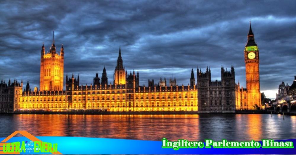 ingiltere parlemento binasi - Dünyada En Etkileyici 5 Mimari Yapı