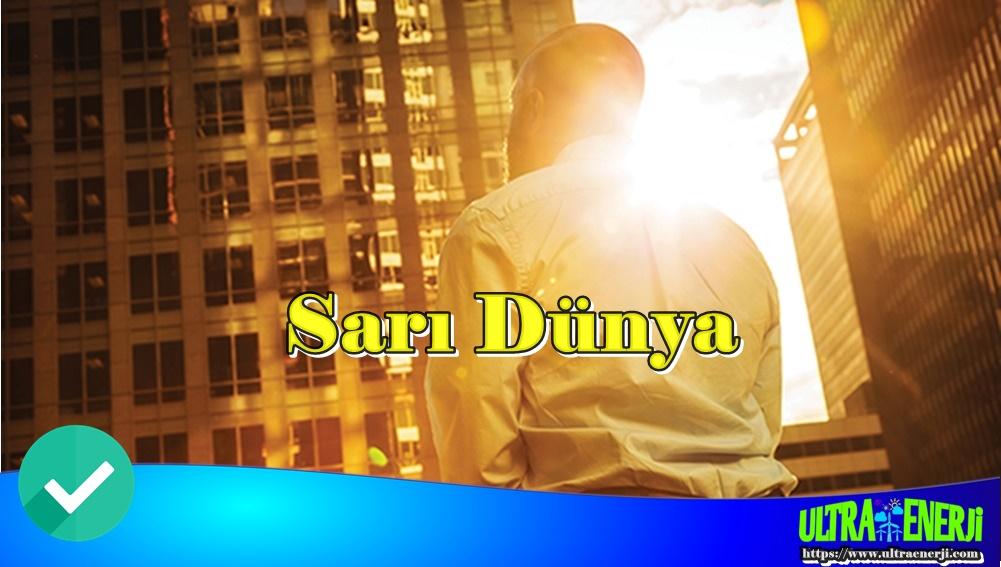 sari dunya - İş Hayatının Geleceği Nasıl Olacak?