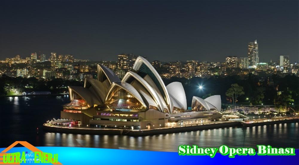 sidney opera binasi - Dünyada En Etkileyici 5 Mimari Yapı