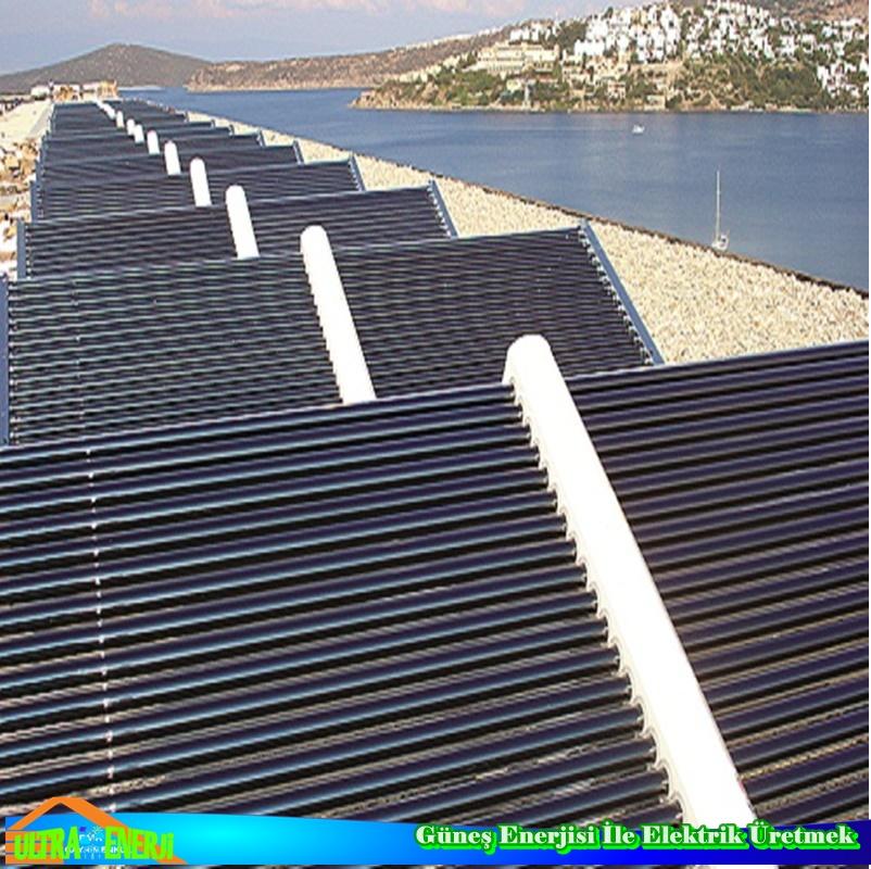 Gunes Enerjisi1 - Güneş Enerjisi İle Elektrik Üretmek