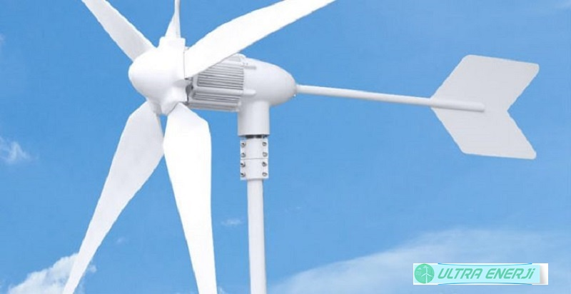 Taşınabilir Rüzgar Türbini
